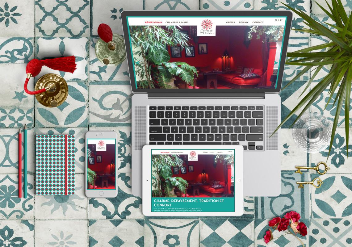 la terrasse des oliviers marrakech. Black Bedroom Furniture Sets. Home Design Ideas